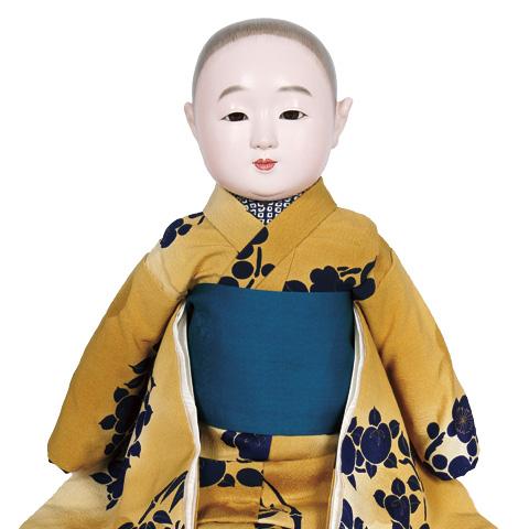 松乾斎東光:かき毛抱き人形