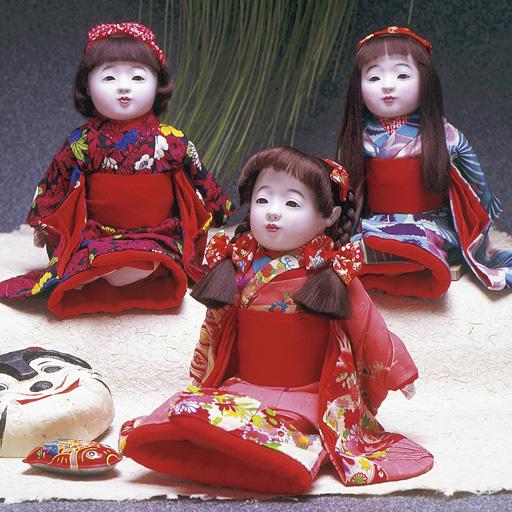 市松人形展開催中
