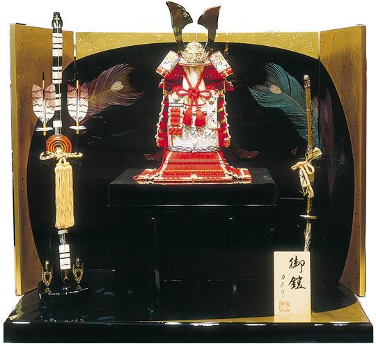 赤糸威大鎧セット