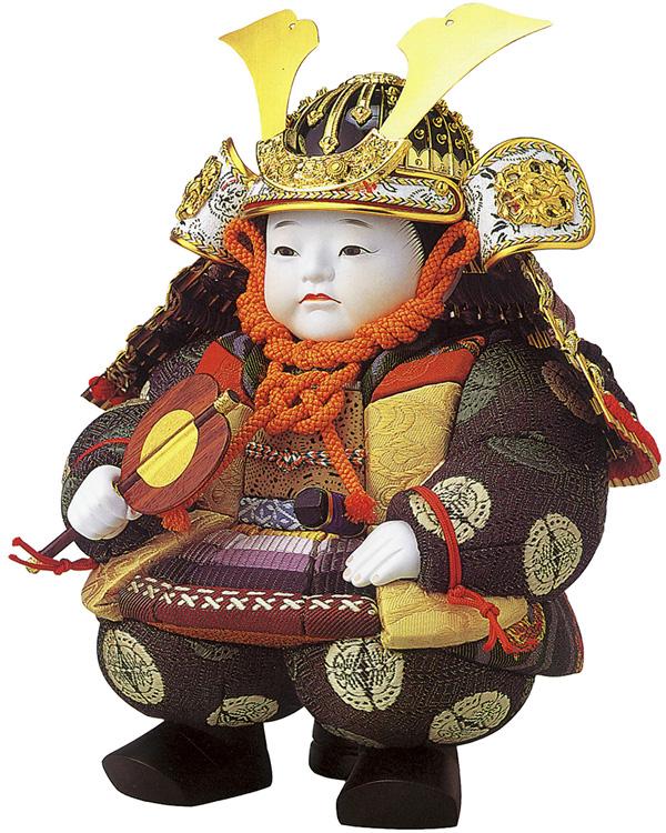 石川潤平 作 おぼこ大将「紫裾濃」