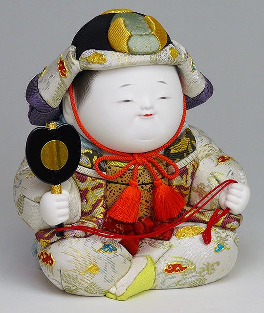 石川潤平 作 おぼこ大将 総木目込彩色